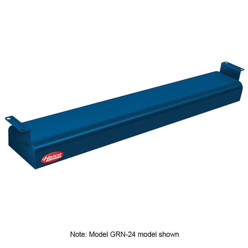 "Hatco GRN-42 42"" Narrow Infrared Foodwarmer, Navy, 120 V"