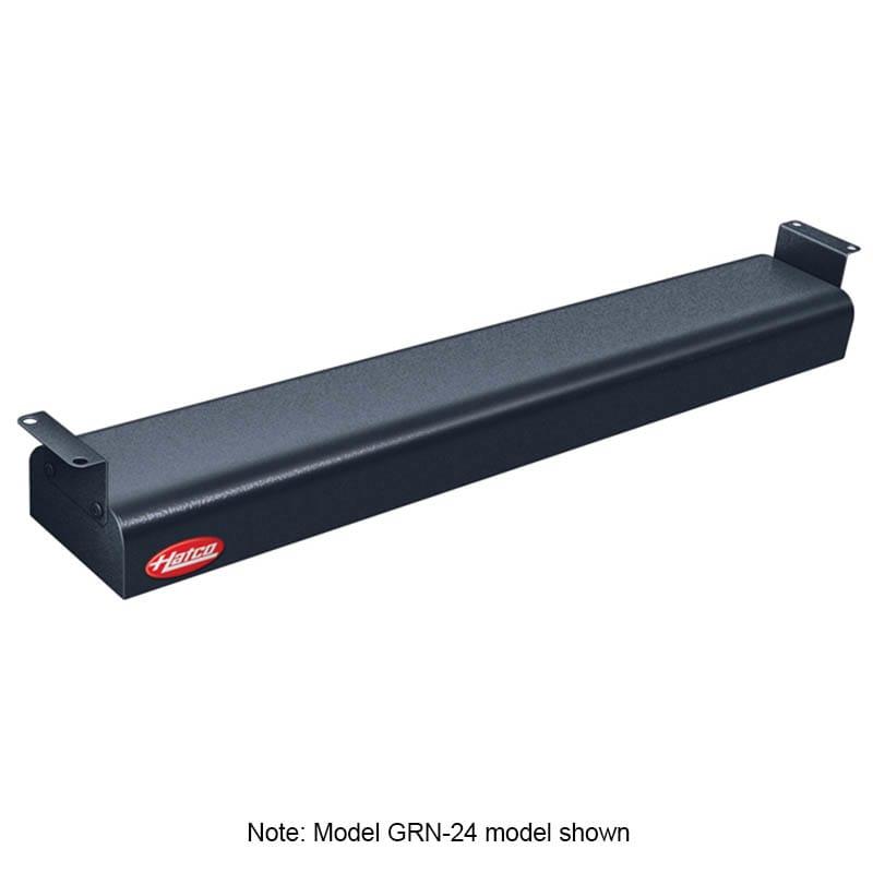 "Hatco GRN-42 42"" Narrow Infrared Foodwarmer, Black, 208 V"