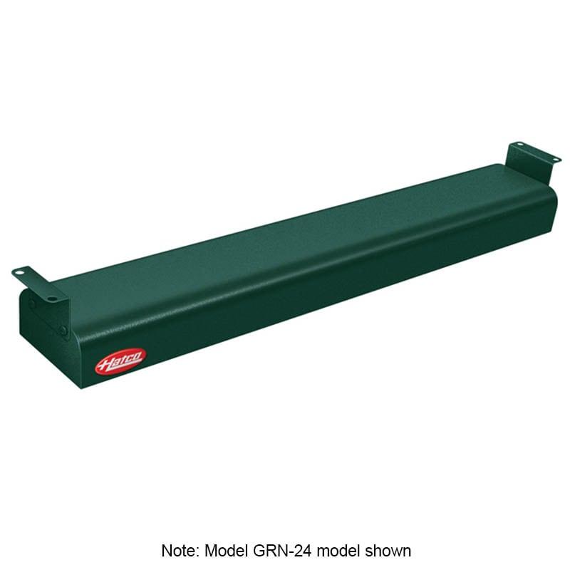 "Hatco GRN-42 42"" Narrow Infrared Foodwarmer, Hunter Green, 208 V"