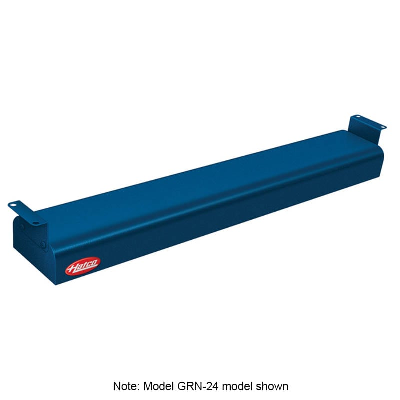 "Hatco GRN-42 42"" Narrow Infrared Foodwarmer, Navy, 208 V"