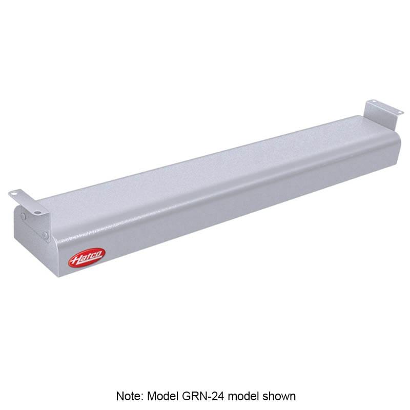 """Hatco GRN-42 42"""" Narrow Infrared Foodwarmer, White Granite, 208 V"""