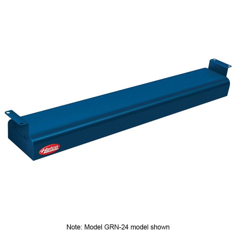 "Hatco GRN-42 42"" Narrow Infrared Foodwarmer, Navy, 240 V"