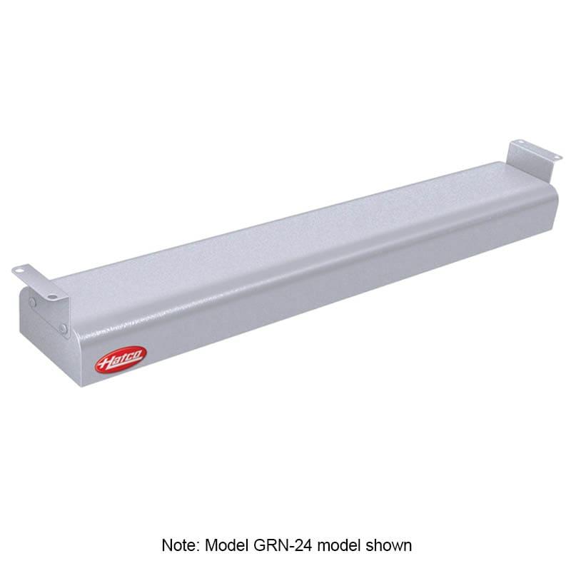 """Hatco GRN-42 42"""" Narrow Infrared Foodwarmer, White Granite, 240 V"""