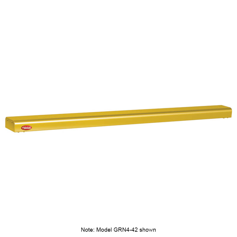 "Hatco GRN4-30 30"" Narrow Halogen Foodwarmer, Gleaming Gold, 120 V"