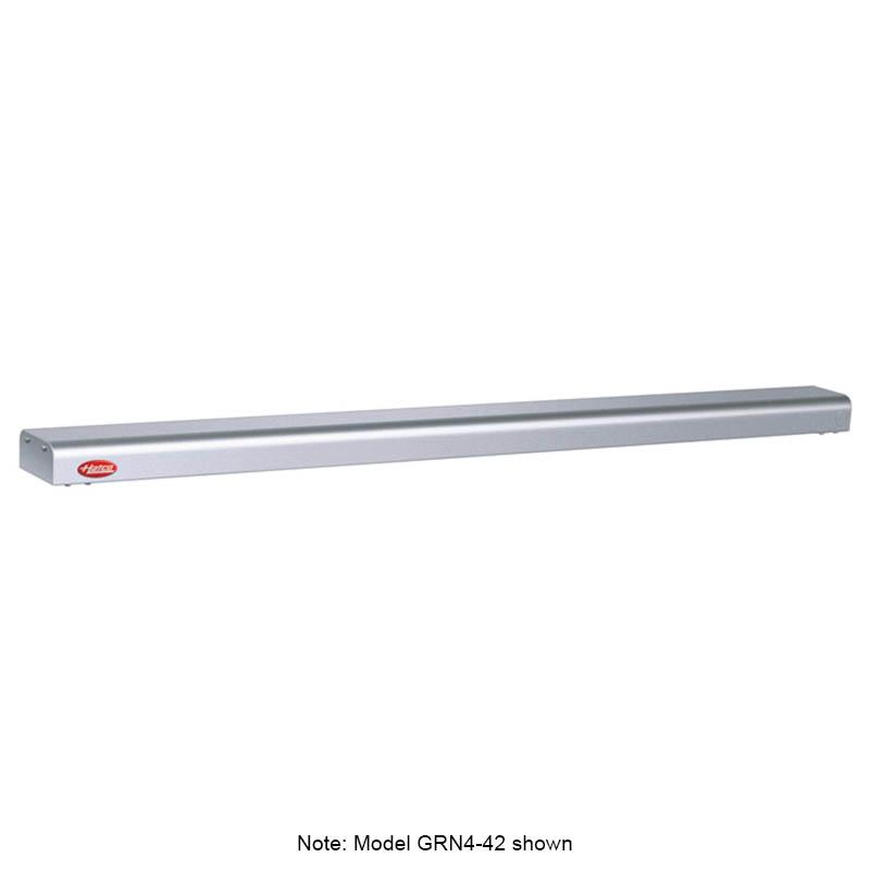 """Hatco GRN4-54 54"""" Narrow Halogen Foodwarmer, White Granite, 120 V"""