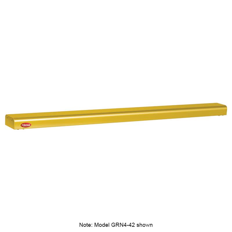 "Hatco GRN4-72 72"" Narrow Halogen Foodwarmer, Gleaming Gold, 120 V"