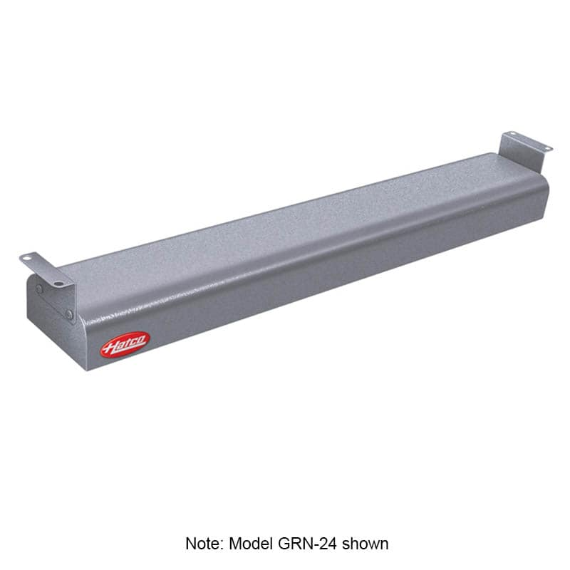 """Hatco GRN-48 48"""" Narrow Infrared Foodwarmer, Gray Granite, 240 V"""
