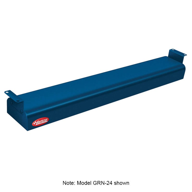 "Hatco GRN-54 54"" Narrow Infrared Foodwarmer, Navy, 120 V"