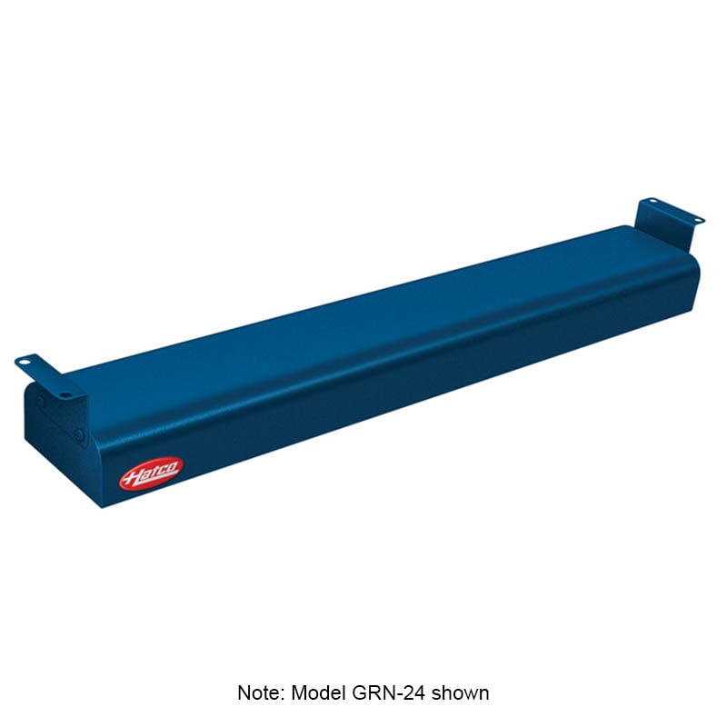 "Hatco GRN-60 60"" Narrow Infrared Foodwarmer, Navy, 120 V"