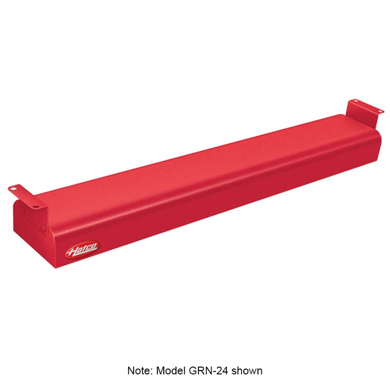 """Hatco GRN-60 60"""" Narrow Infrared Foodwarmer, Warm Red, 120 V"""