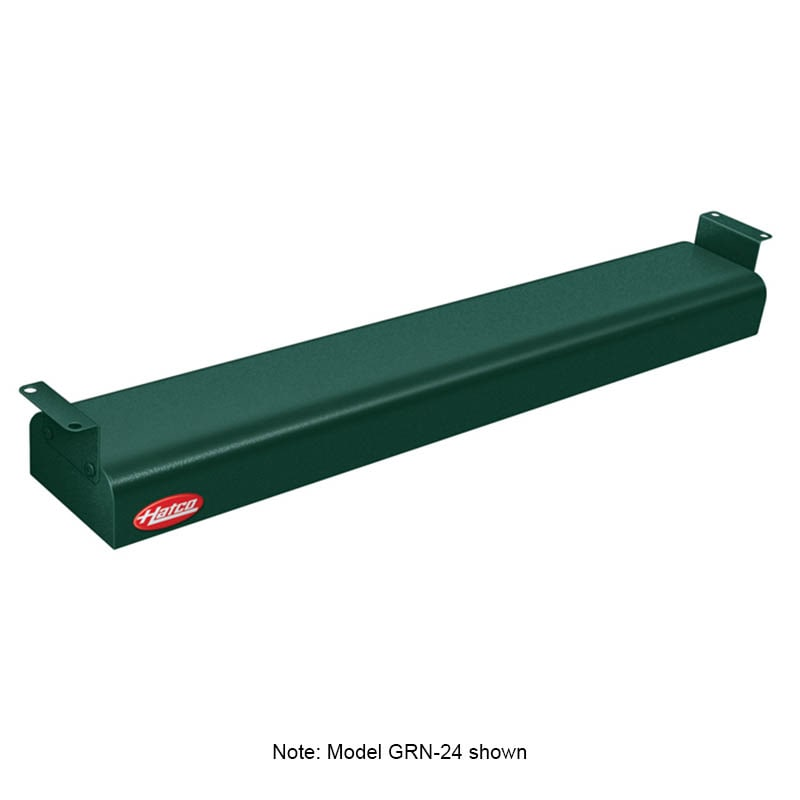 "Hatco GRN-66 66"" Narrow Infrared Foodwarmer, Hunter Green, 208 V"