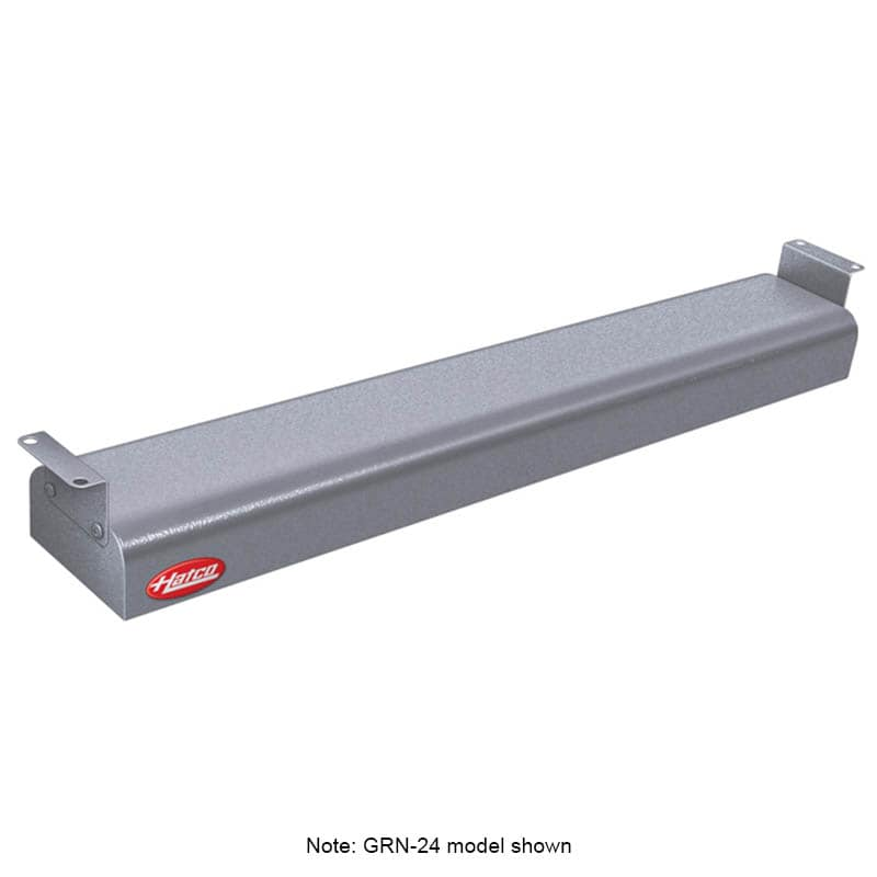 "Hatco GRNH-54 54"" Narrow Infrared Foodwarmer, High Watt, Gray, 120 V"