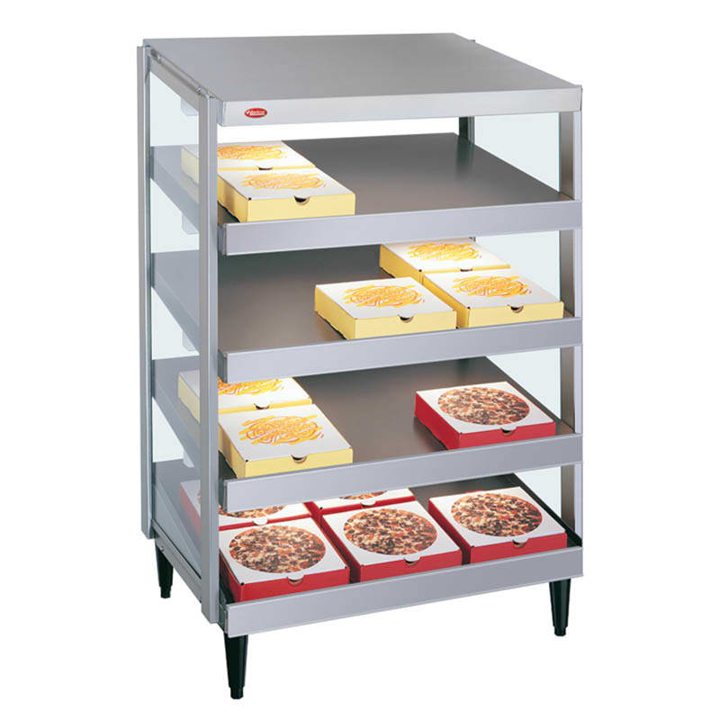 "Hatco GRPWS-2418Q Glo-Ray Pizza Warmer, Pass Thru, 4 Slant Shelf, 24"" X 18"""
