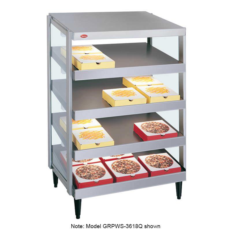 """Hatco GRPWS-3624Q 35.88"""" Heated Pizza Merchandiser w/ 4 Levels, 120v/208 240v/1ph"""