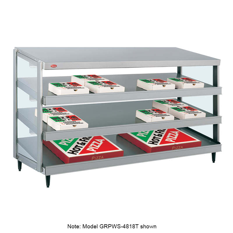 "Hatco GRPWS-3624T Glo-Ray Pizza Warmer, Pass Thru, 3 Slant Shelf, 36"" X 24"""