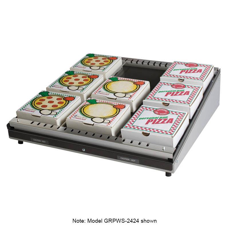 """Hatco GRPWS-4824 Pass-Thru Pizza Warmer w/ Single Slant Shelf, 48 x 24"""", 120 V"""