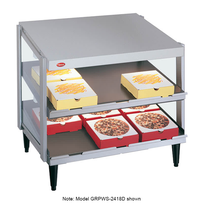 "Hatco GRPWS-4824D 47.88"" Heated Pizza Merchandiser w/ 2 Levels, 120v"