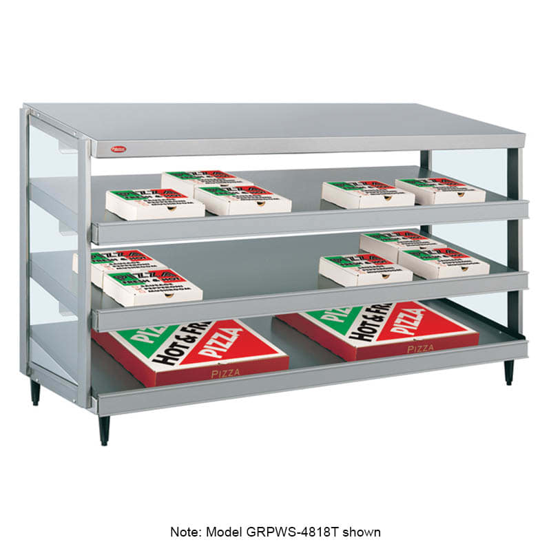 "Hatco GRPWS-4824T 47.88"" Heated Pizza Merchandiser w/ 3 Levels, 120v/208 240v/1ph"