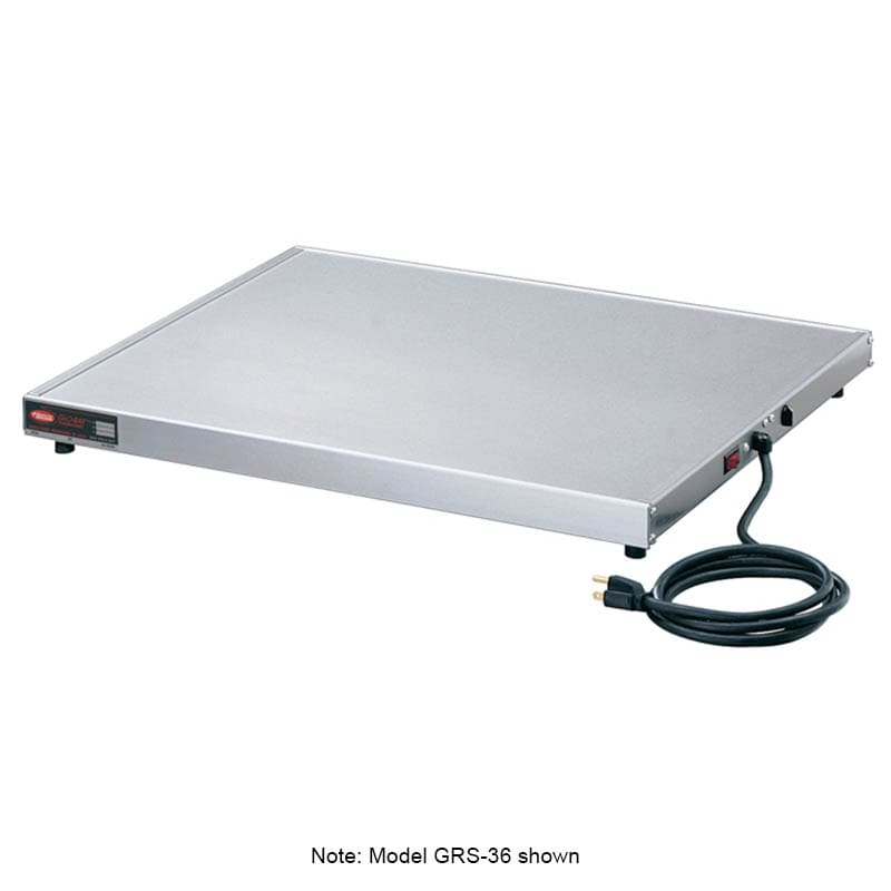 "Hatco GRS-24-F 24"" Heated Shelf w/ Adjustable Thermostat, 15.5"" W, 120 V"