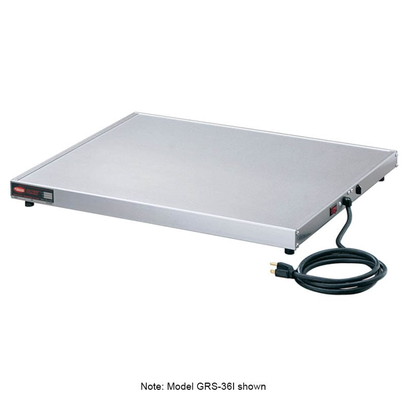 "Hatco GRS-36-B 36"" Heated Shelf w/ Adjustable Thermostat, 7-3/4"" W, 120 V"