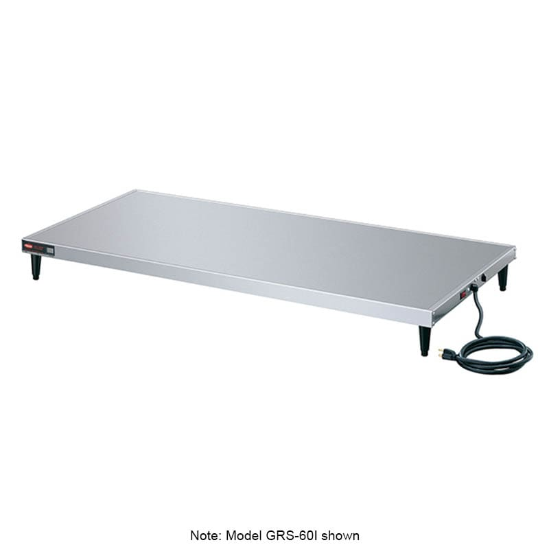 "Hatco GRS-60-L 60"" Heated Shelf w/ Adjustable Thermostat, 25.5"" W, 120 V"