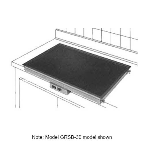 "Hatco GRSB-48-F Drop In Heated-Shelf, Recessed Top, 49.5 x 17"", 770 Watts"