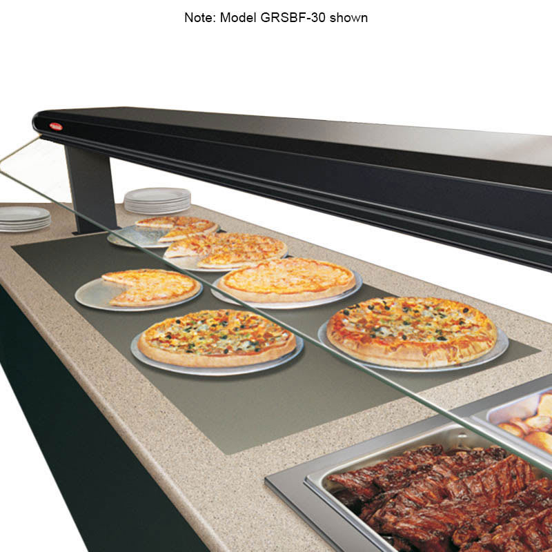 "Hatco GRSBF-36-I 37.5"" Drop In Heated Shelf w/ Flush Top, 21"" W, 120 V"