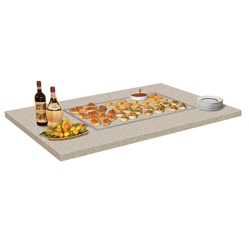 Hatco GRSSB-2418 25 5/8 Built In Heated Stone Shelf, 100 200F Temp Range