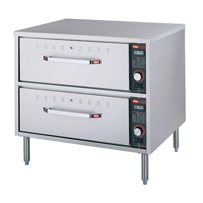 Hatco HDW-2 Freestanding Warming 2-Drawer Unit For Standard Size Pans, 208 V