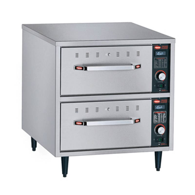 Hatco HDW-2N Freestanding Narrow Warming 2-Drawer Unit For Standard Pans, 208 V