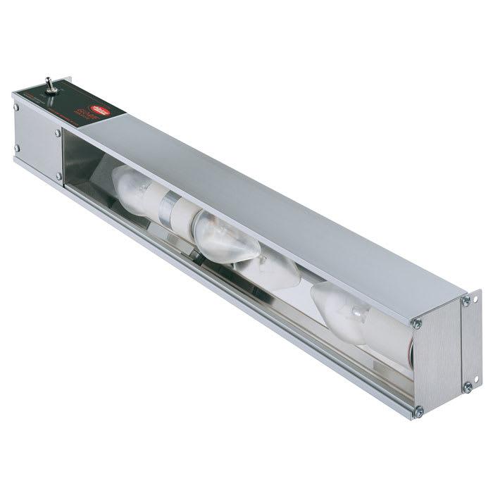 "Hatco HL-36 36"" Strip Display Light w/ Toggle Switch - Aluminum, 120v"