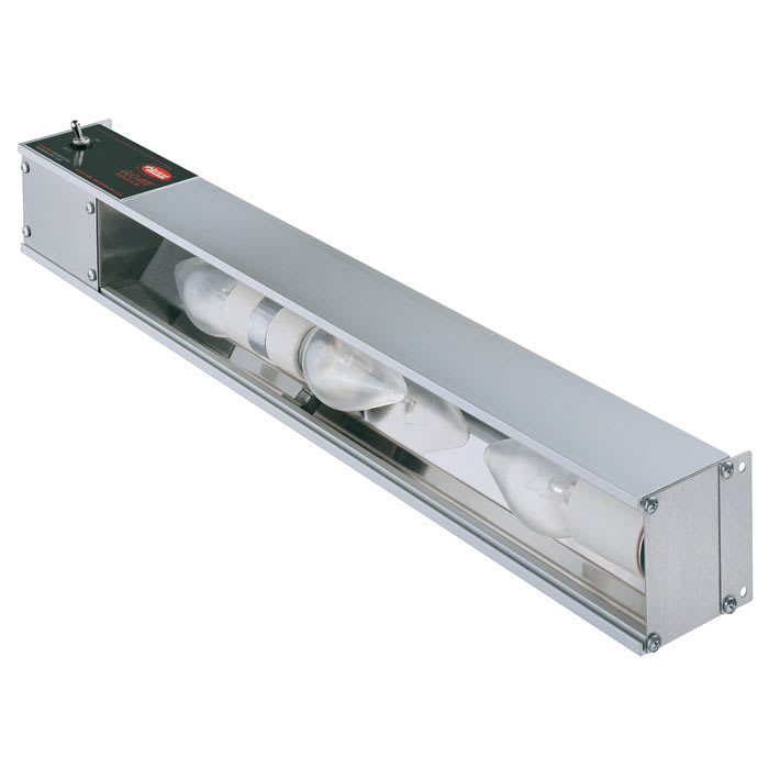 "Hatco HL-48 48"" Strip Display Light w/ Toggle Switch - Aluminum, 120v"