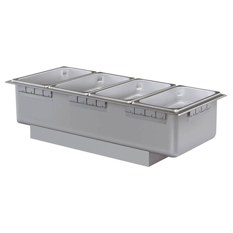 Hatco HWB-43 Drop In Hot Food Well w/ (4) 1/3 Size Pan Capacity, 208v/1ph
