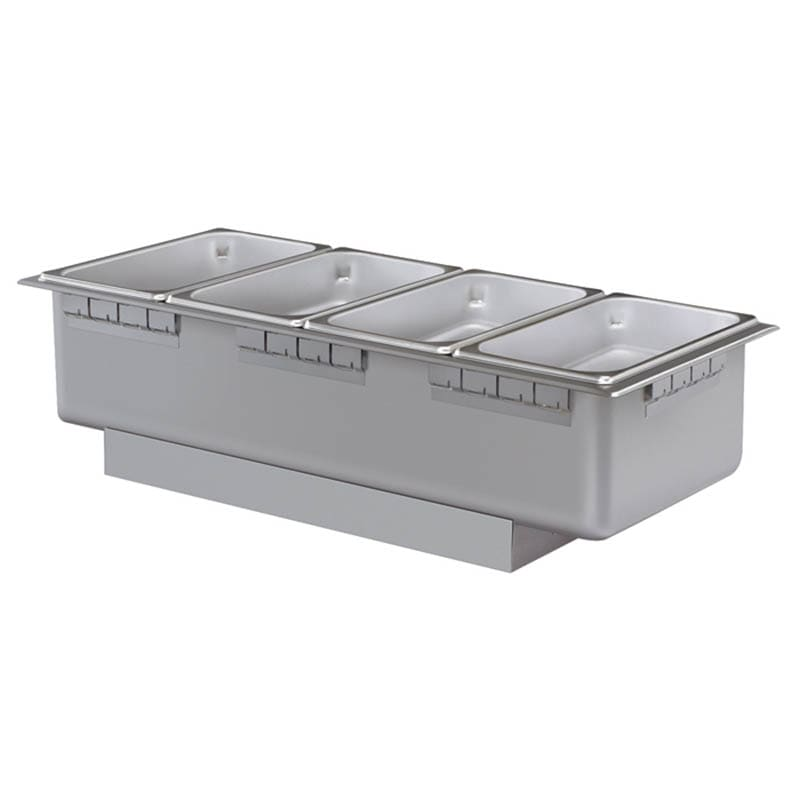 Hatco HWB-43 Drop In Hot Food Well w/ (4) 1/3 Size Pan Capacity, 240v/1ph