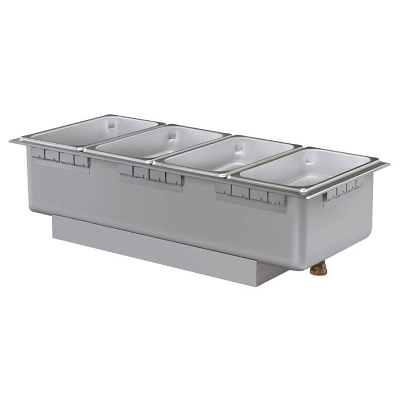Hatco HWB-43DA Drop-In Hot Food Well w/ (4) 1/3 Size Pan Capacity, 240v/1ph