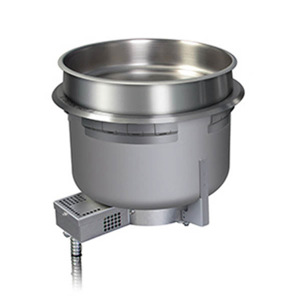 Hatco HWBH-11QTD 11-qt Round Heated Well w/ Drain & High Watt, 208 V