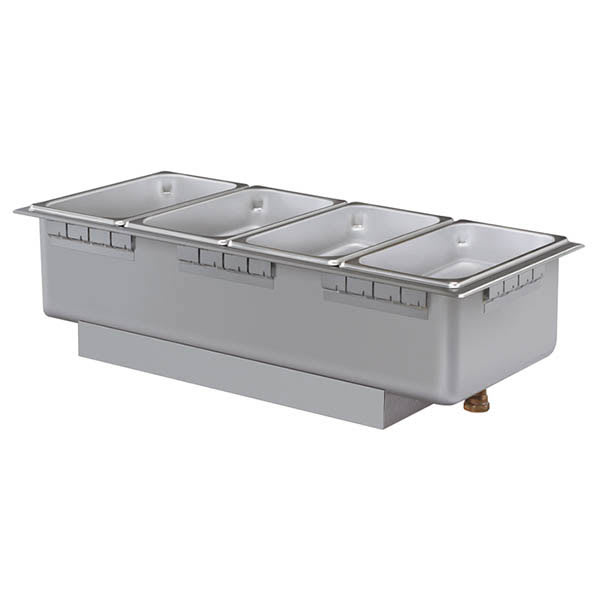 Hatco HWBH-43DA Heated Well w/ (4) Third Size Pan Capacity, High Watt, Drain & Auto-Fill, 208 V