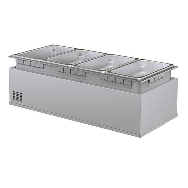 Hatco HWBHI-43 Drop-In Hot Food Well w/ (4) 1/3 Size Pan Capacity, 240v/1ph