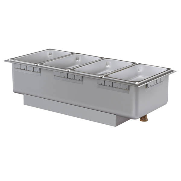 Hatco HWBHI-43D Drop-In Hot Food Well w/ (4) 1/3 Size Pan Capacity, 208v/1ph