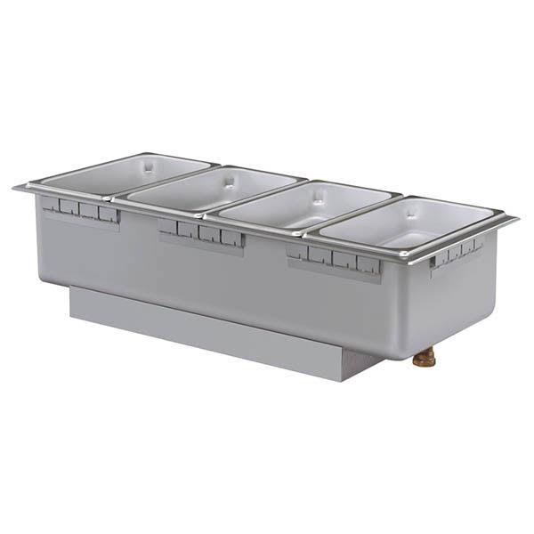 Hatco HWBHI-43D Drop-In Hot Food Well w/ (4) 1/3 Size Pan Capacity, 240v/1ph