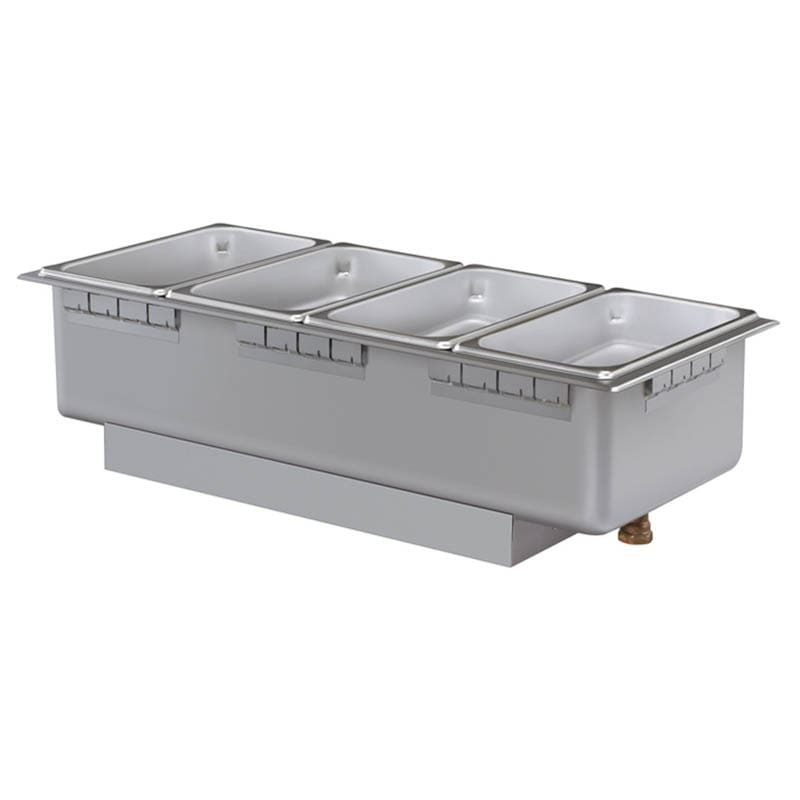 Hatco HWBHRN-43D Heated Well w/ (4) Third Size Pan Capacity, Drain & Infinite Switch, 208 V