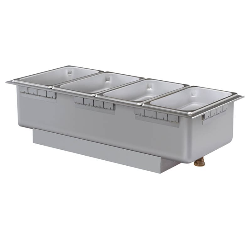 Hatco HWBHRT-43 Drop-In Hot Food Well w/ (4) 1/3 Size Pan Capacity, 240v/1ph