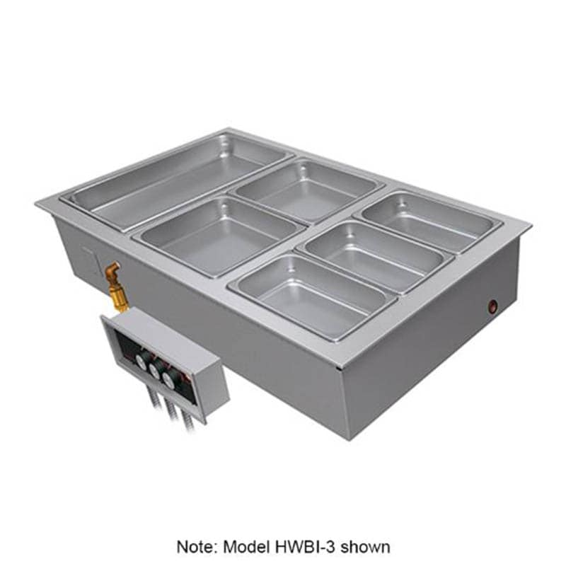Hatco HWBI-2 Drop-In Hot Food Well w/ (2) Full Size Pan Capacity, 240v/3ph