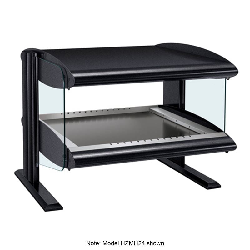 "Hatco HZMH-30 33.9"" Self-Service Countertop Heated Display Shelf - (1) Shelf, 120v"