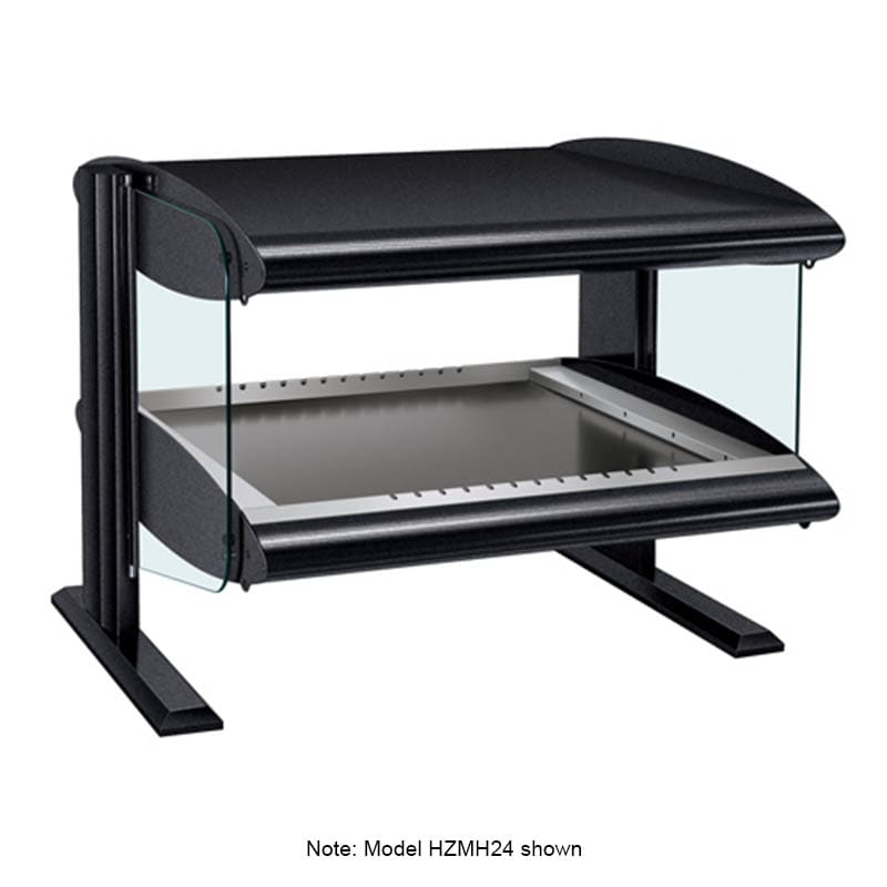 "Hatco HZMH-60 63.9"" Self-Service Countertop Heated Display Shelf - (1) Shelf, 120v"