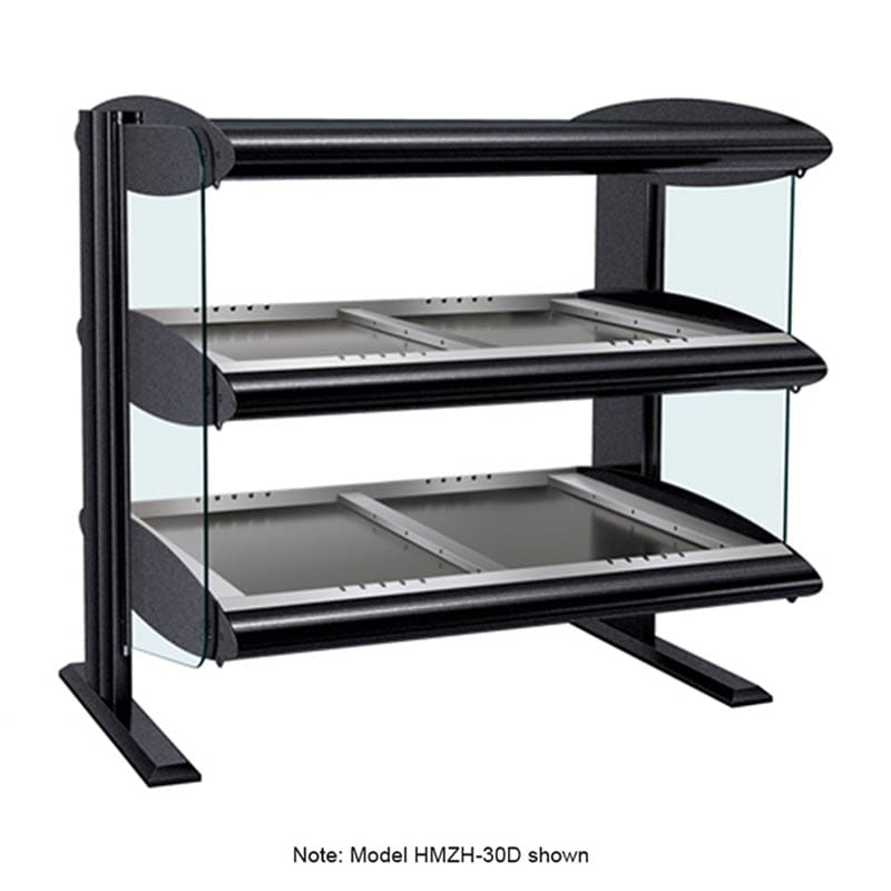 "Hatco HZMH-60D 63.9"" Self-Service Countertop Heated Display Shelf - (2) Shelves, 120v/208v/1ph"