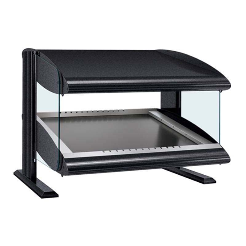 "Hatco HZMS-24 27.9"" Self-Service Countertop Heated Display Shelf - (1) Shelf, 120v"