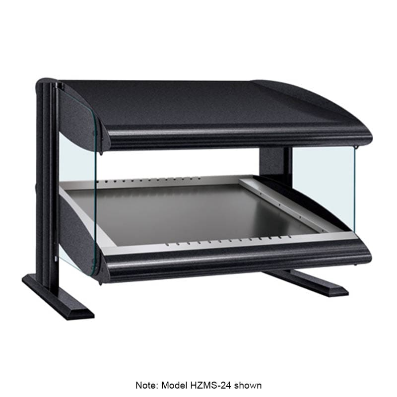 "Hatco HZMS-30 33.9"" Self-Service Countertop Heated Display Shelf - (1) Shelf, 120v"