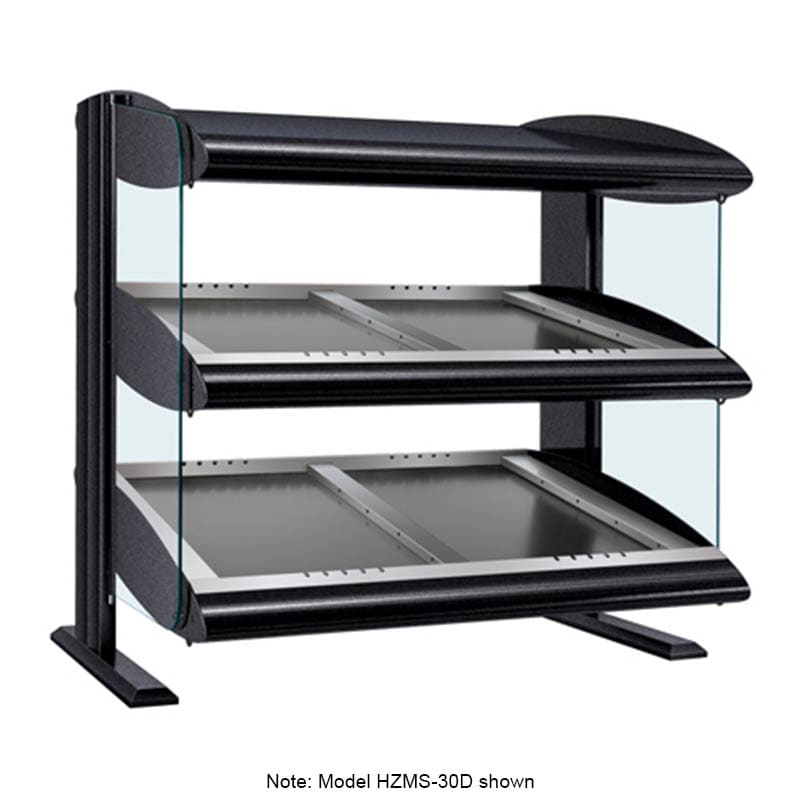 "Hatco HZMS-36D 39.9"" Self-Service Countertop Heated Display Shelf - (2) Shelves, 120v/208v/1ph"