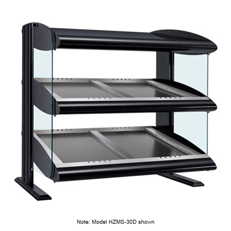 "Hatco HZMS-42D 45.9"" Self-Service Countertop Heated Display Shelf - (2) Shelves, 120v/208v/1ph"